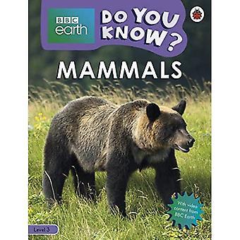 Do You Know? Level 3 - BBC Earth Mammals