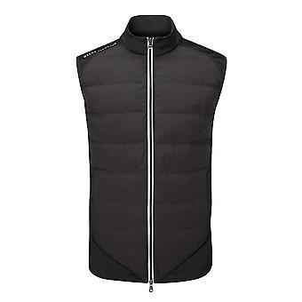 Oscar Jacobson Mens Randal Gilet Quilted Windproof Sleeveless Vest Outerwear Top