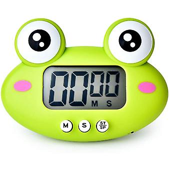 Kitchen Timer, Cute Cartoon Animal Countdown Timer, Digital Cooking Timer With Magnetic(frog)