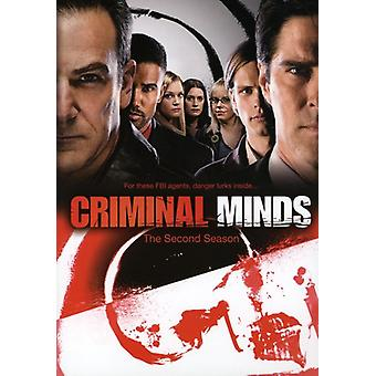 Criminal Minds - Criminal Minds: Staffel 2 [DVD] USA Import