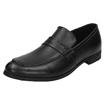 Mens Maverick Slip op formele schoen