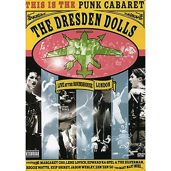 Dresden Dolls - Live at the Roundhouse London 2006 [DVD] USA import