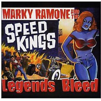 Ramone/Speedkings - Legends Bleed [CD] USA import