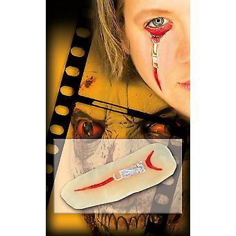 Zombie litteken zip rits siliconen lijm Halloween horror
