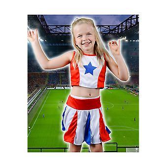 Pour enfants costumes enfant fille filles pom-pom girl