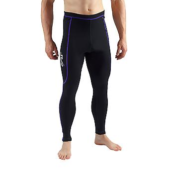 Sub Sport Herren Merino Wolle Thermo Leggings Winter Base Layer laufen