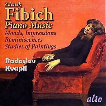 Fibich / Kvapil, Radoslav - Moods Impressions & Reminiscences & Studies of Pai [CD] USA import