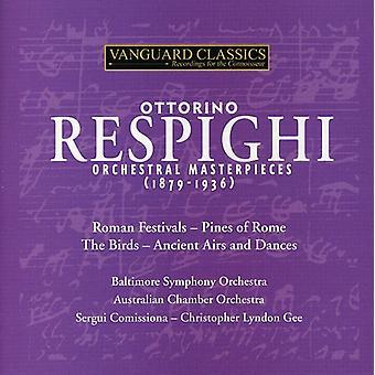 O. Respighi - Respighi: Orchestral Masterpieces (1879-1936) [CD] USA import