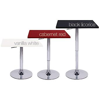 Zeta Contemporary Adjustable Bar Table