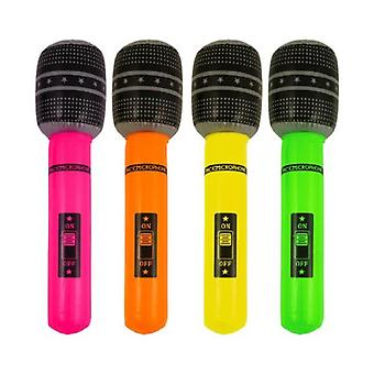 12 Microphones gonflables 40cm - X99 115