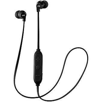 JVC Powerful Sound Wireless Bluetooth In Ear Headphones - Black (HAFX21BTBE)