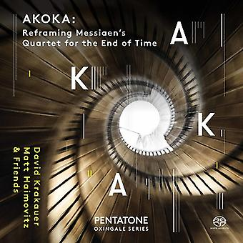 Socalled / Krakauer / Messiaen - Akoka: Reframing Olivier Messiaen's Quartet for [SACD] USA import