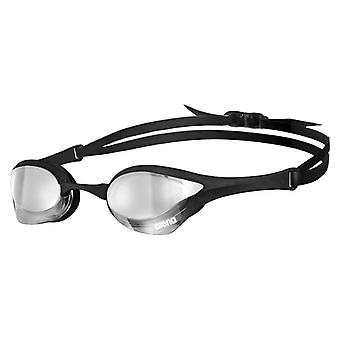 Arena Cobra Ultra Mirror Swim Goggle-Mirrored Lens-Silver/Black/Black