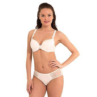 LingaDore 1400-1-4 Kvinder's Daily Lace Ivory Off Hvid polstret Bøjle T-Shirt Bh
