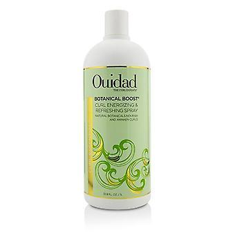 Ouidad Botanical Boost curl energizing & amp; Verfrissende spray (curl Essentials)-1000ml/33,8 oz