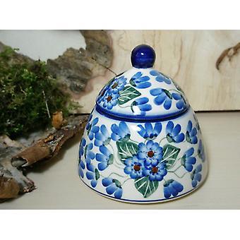 Suiker / jam pot, 46 - Bolesławiec aardewerk servies - BSN 6616