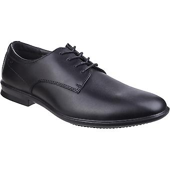 Hush Puppies Mens Cale Lace Up Leather Oxford Smart Dress Shoes