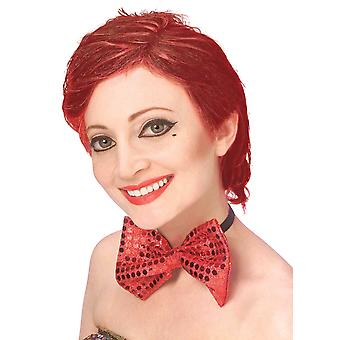 Columbia Rocky Horror Auburn Red Women Costume Wig
