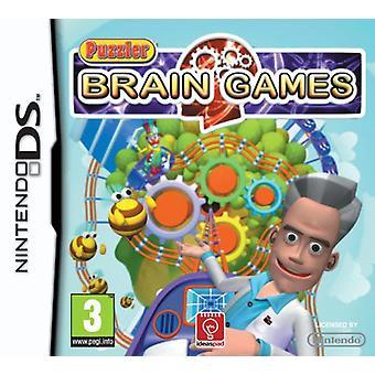 Puzzler Brain spel (Nintendo DS)-nya