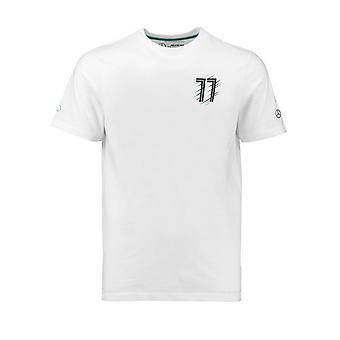 Mercedes AMG Petronas Kids Bottas 77 T-Shirt White
