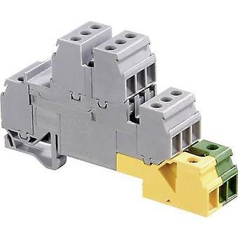 ABB 1SNA 110 332 R2600 Przemysłowy blok zacisków 17,8 mm Śruby Konfiguracja: Terre, L Szary, Zielony, Żółty 1 szt.)