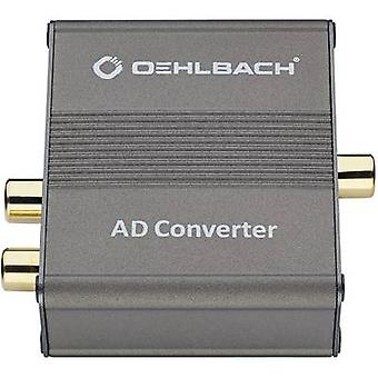 Oehlbach Audio/phono Converter AD Bridge [RCA - Toslink, RCA]