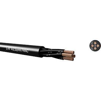 L-RF 4x4,00qmm, black, FRNC, speaker-cable, round 65H440000 Kabeltronik