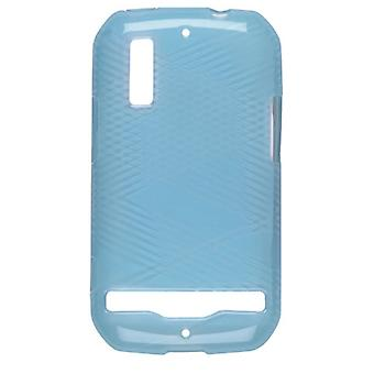 Wireless Solutions Criss Cross Dura-Gel Case for Motorola Photon 4G MB855 - Turquoise
