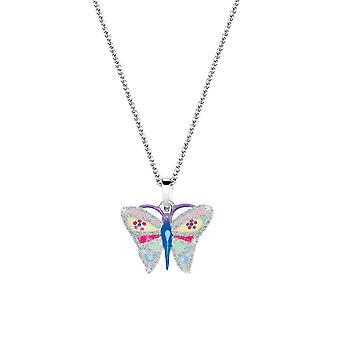 Scout children necklace chain silver Butterfly girls 261107200