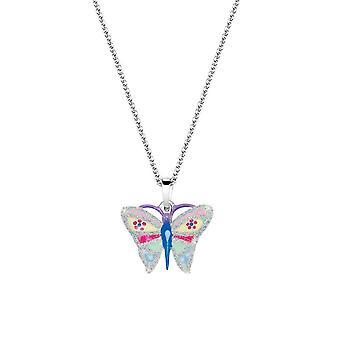 Bambini collana catena argento farfalla ragazze 261107200 dell'esploratore