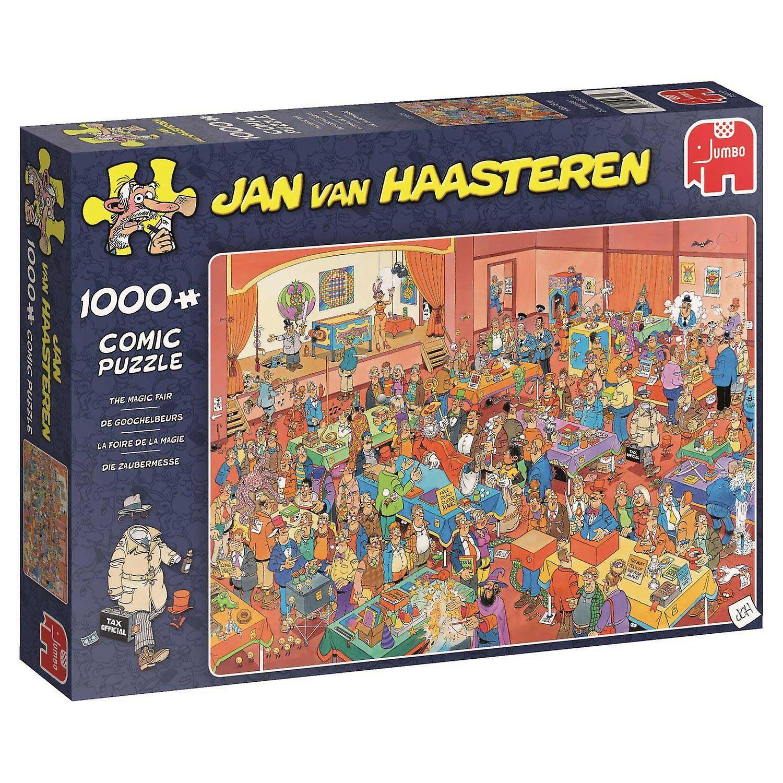 Jan Van Haasteren den magiske rettferdig Jigsaw Puzzle (1000 stykker)
