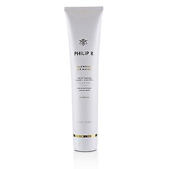 Philip B haar Masque rechttrekken (frizz Taming Shine + Control-alle haar types)-178ml/6oz
