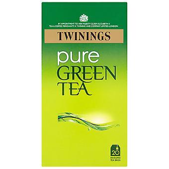 Twinings Pure Green Tea Enveloped Tea Bags