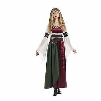 Burgherrin vznešená Lady princezna Xena středověká Lady Dámská mašina