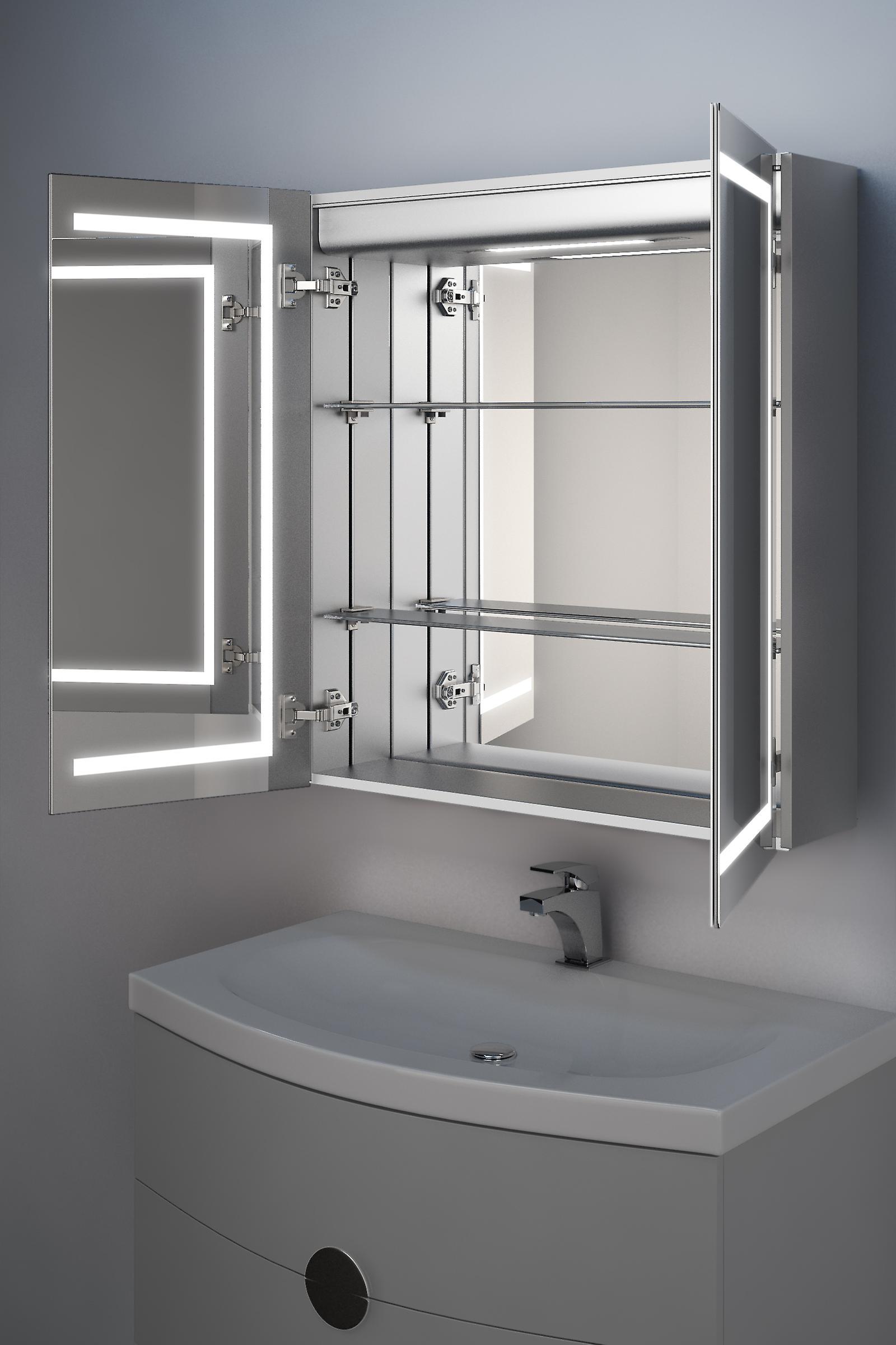 Talia LED salle de bains Cabinet avec Dévésiculeur Pad, capteur et Shaver k362