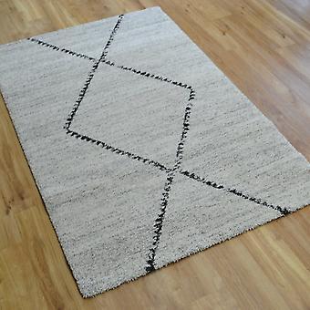 Mehari Teppiche 23229 6288 In Elfenbein und grau