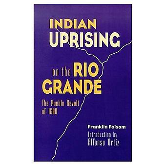 Indischen Aufstand am Rio Grande