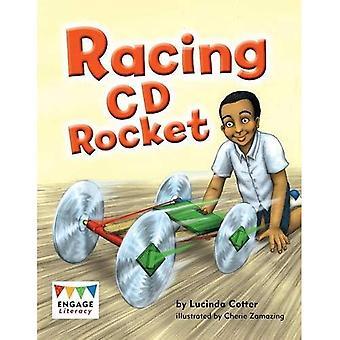 Corse CD Rocket (alfabetizzazione impegnarsi bianco)