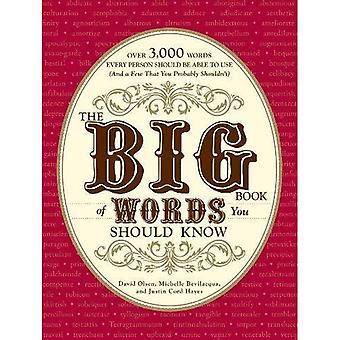 O grande livro de palavras que você deve saber: mais de 3.000 palavras, cada pessoa deve ser capaz de usar (e alguns que você não deveria)