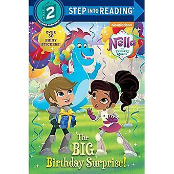 La grand anniversaire Surprise! (Le chevalier princesse Nella) (étape en lecture - niveau 2)