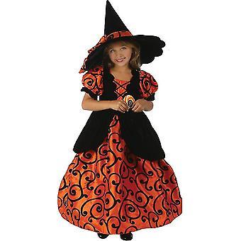 Costume enfant sorcière magnifique