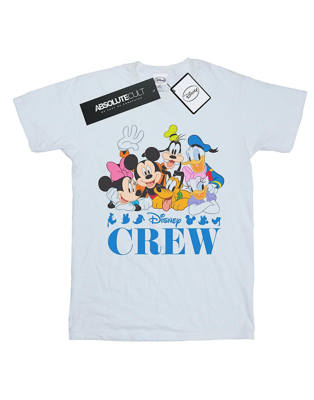 Disney Women's Mickey Mouse Disney Friends Boyfriend Fit T-Shirt
