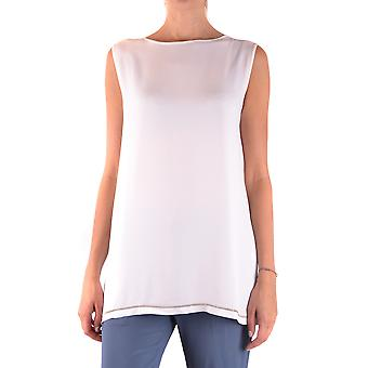 Fabiana Filippi Ezbc055019 Women's White Acetate Top
