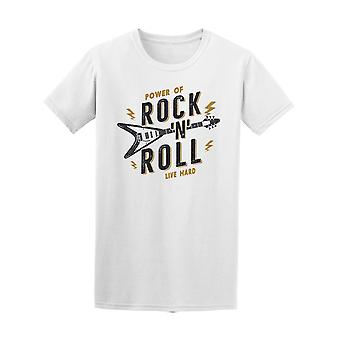 Power Rock And roll Live kova Tee Men-kuva: Shutterstock