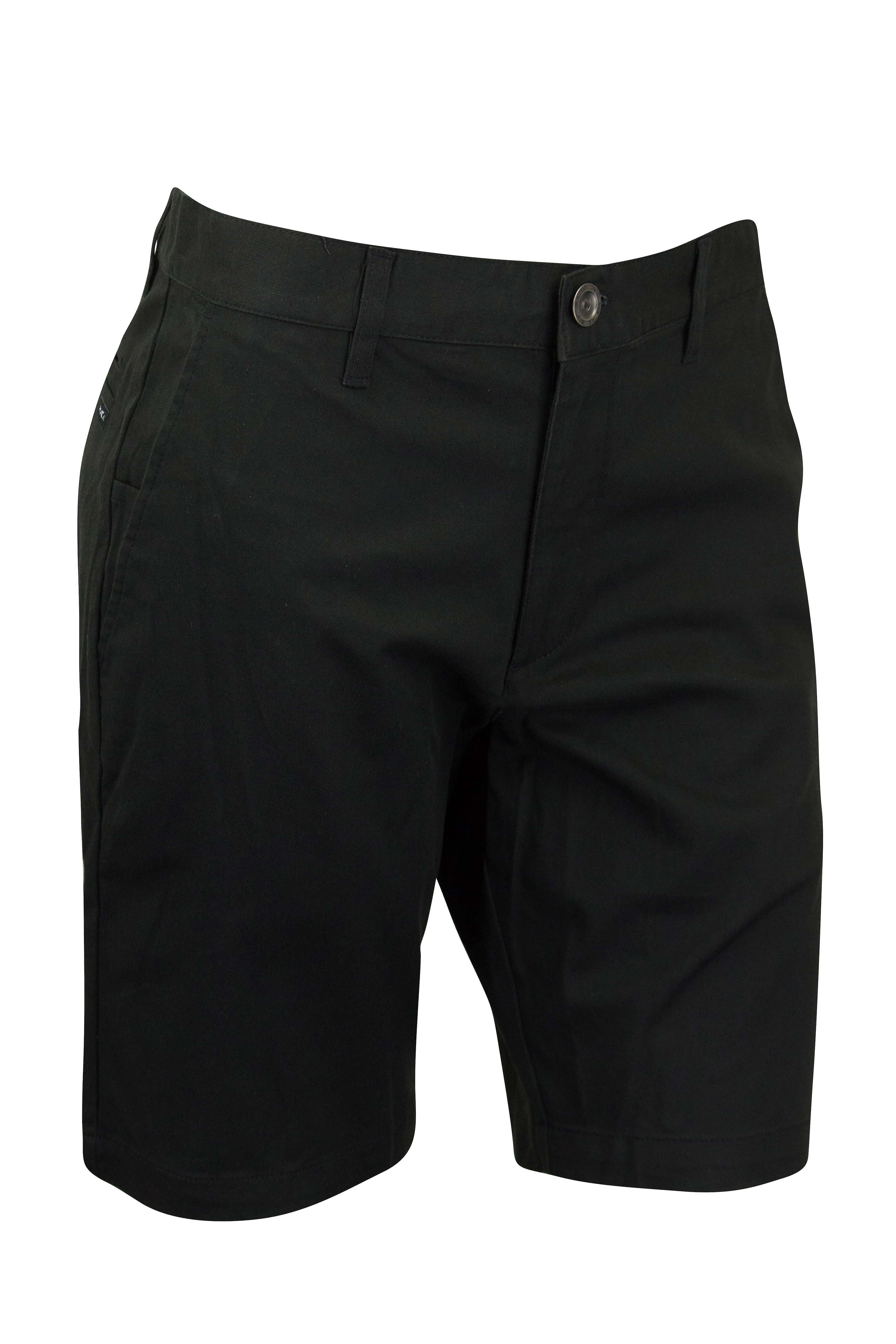 RVCA Mens VA Sport Weekend Stretch Casual Chino Shorts - Black