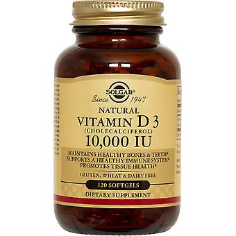 Solgar Vitamin D3 (Cholecalciferol) 10.000 IU Softgels 120ct