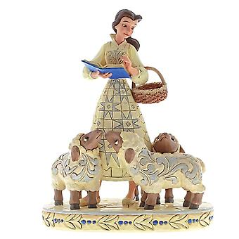 Disney Traditions 'Bookish Beauty' Belle with Sheep Figurine
