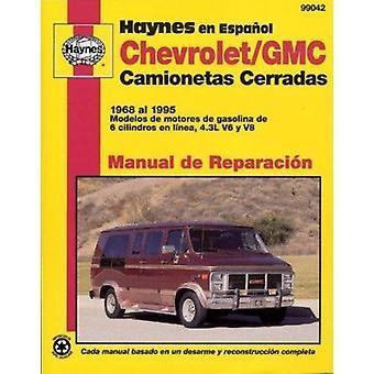 Camionetas Cerradas Chevrolet & GMC Manual de Reparacion  - Modelos Cu