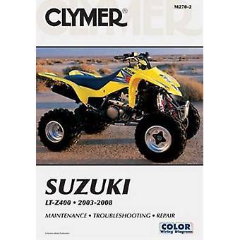 Clymer Suzuki LT-Z400 - 2003-2008 (2nd Revised edition) by Jon Engelma