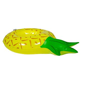 Beverage holder inflatable pineapple 22x16 cm pool party drinkholder cocktail holder